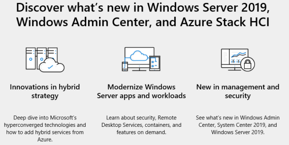 Windows Server Summit 2019 planned on May22, 2019 – A Microsoft